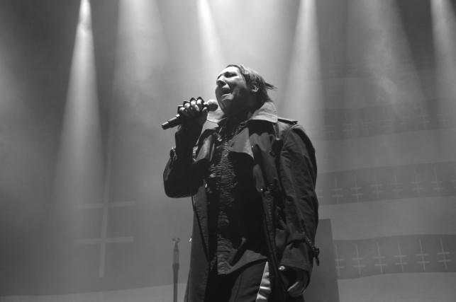 Marilyn Manson. Koncert artysty na warszawskim Torwarze. 13 czerwca 2018