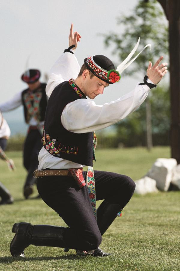 Taniec verbuňk z regionu Slovacko. Fot. Marek Musil Digital Circus