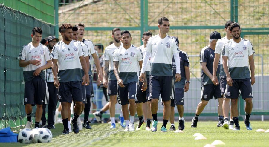 Piłkarze reprezentacji Meksyku