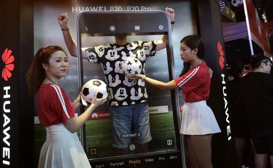 Reklama dostosowana do chińskiego wzrostu...