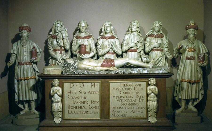 grób Jana Luksemburskiego