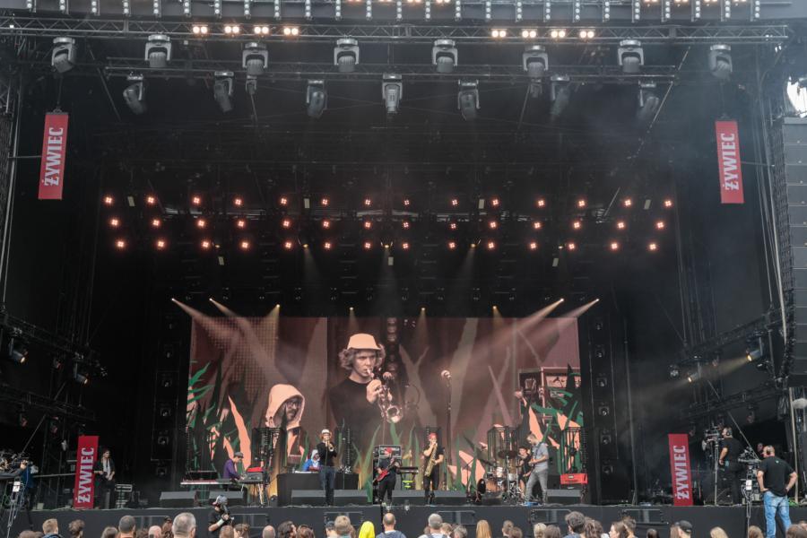 Koncert Męskie Granie 2018 w Żywcu fot.M. Murawski