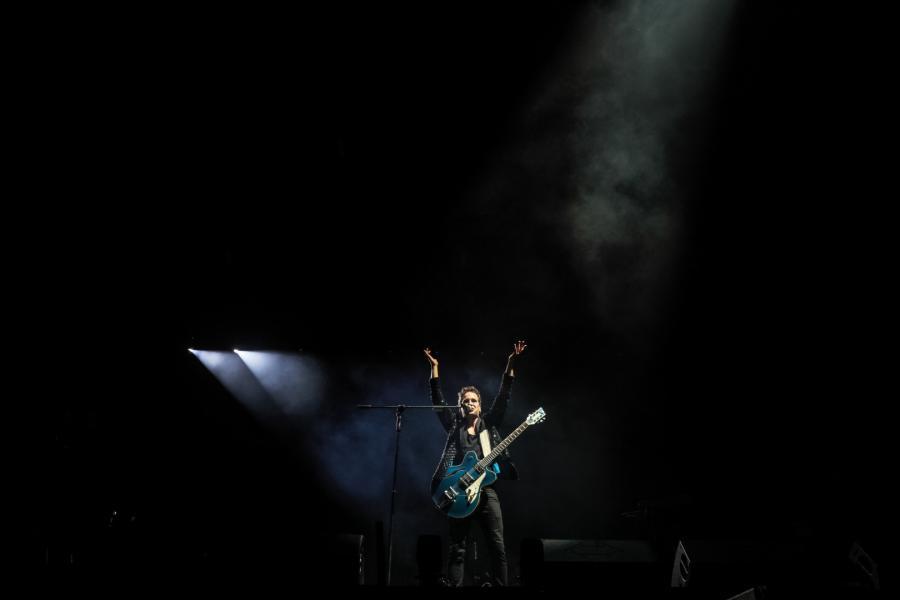 na koncercie Męskie Granie 2018 w Żywcu fot. M. Murawski