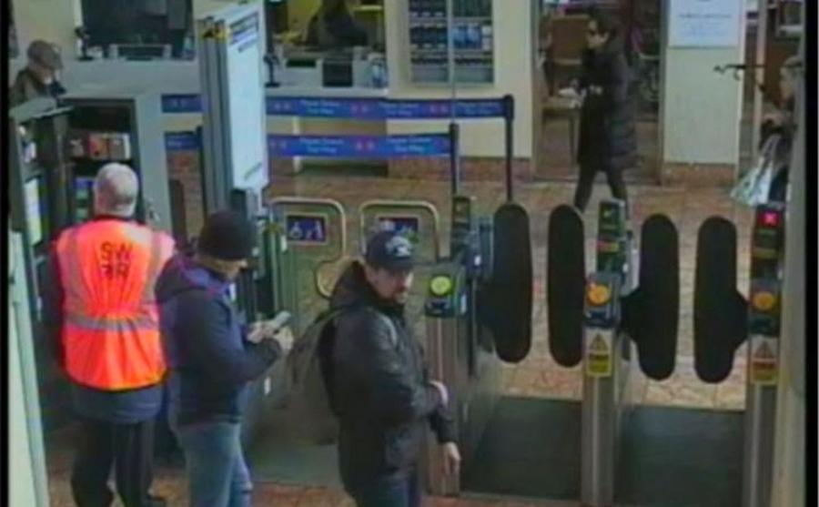 Podejrzani Rosjanie na stacji w Salisbury