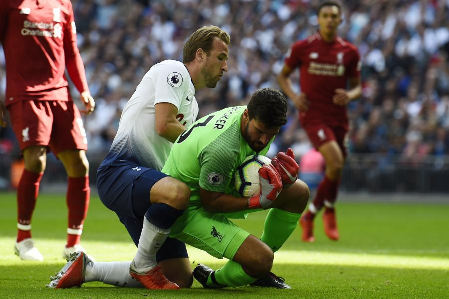 Harry Kane i Alisson Becker