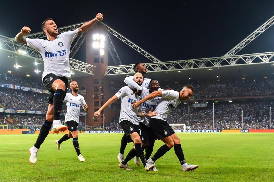 Radość piłkarzy Interu Mediolan