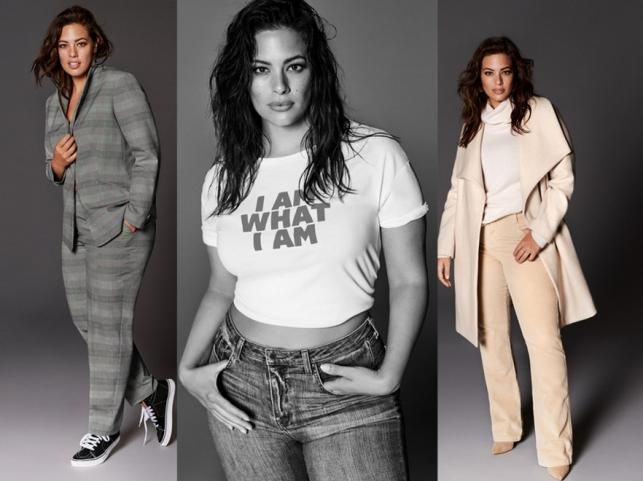 Ashley Graham w kampanii kolekcji Violeta by Mango