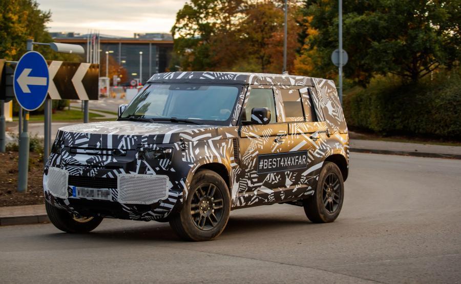 Land Rover Defender nowej generacji