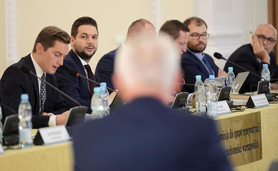 Posiedzenie komisji reprywatyzacyjnej