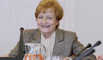 Gilowska: Rząd nie mówi prawdy Polakom