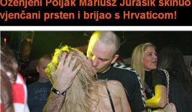 Żonaty piłkarz ręczny całował się z Chorwatką