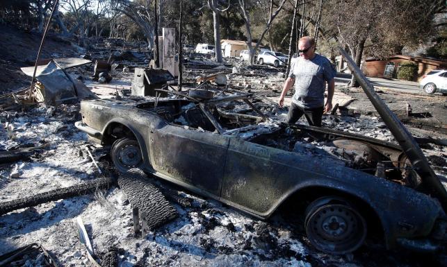 Wzrosła liczba ofiar pożaru w Kalifornii. Spalone domy gwiazd Hollywood i słynne Western Town