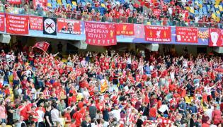 Kibice Liverpoolu