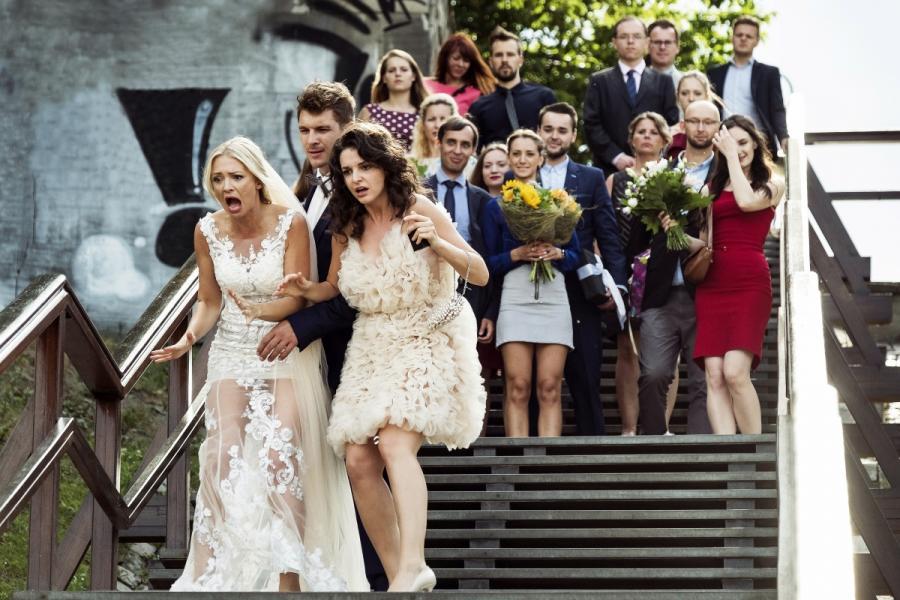 """""""Pech to nie grzech"""" - koemdia romantyczna w kinach od 25 grudnia 2018 roku fot. Tomek Paczkowski/Figaro"""