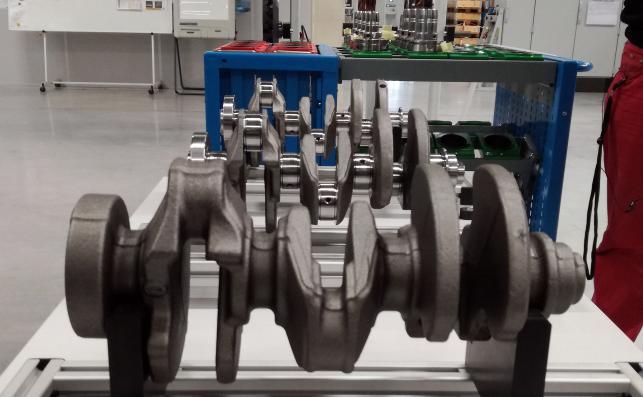 Wał korbowy silnika 1.2 PureTech