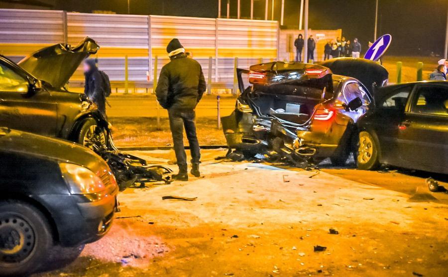 25 stycznia 2017 roku w Lubiczu k. Torunia na drodze krajowej nr 10 zderzyło się osiem pojazdów - dwa auta BMW należące do Żandarmerii Wojskowej i sześć samochodów cywilnych