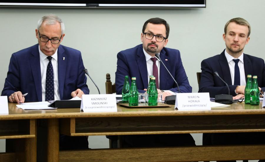 Marcin Horała, przewodniczący komisji śledczej ds. VAT