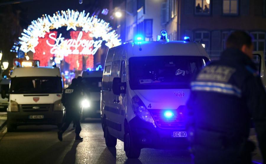 Strasburg - miejsce ataku