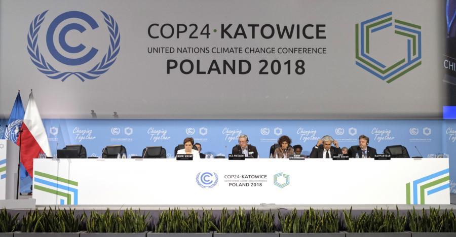 Sesja plenarna Szczytu Klimatycznego ONZ COP24