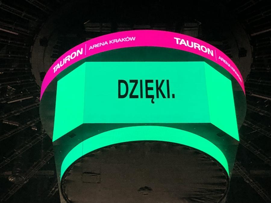 To jest nieautoryzowane zdjęcie z koncertu Dawida Podsiadły. Na autoryzowane musicie jeszcze trochę poczekać