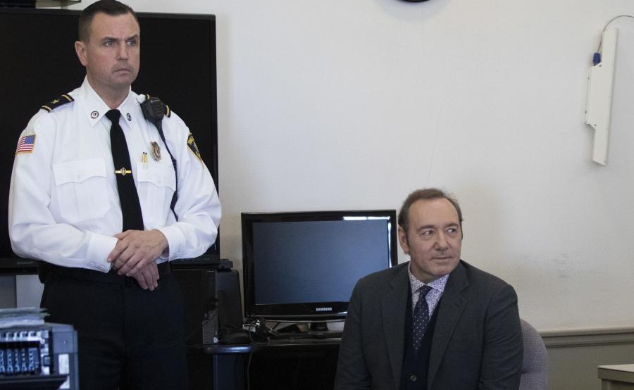 Kevin Spacey w sądzie