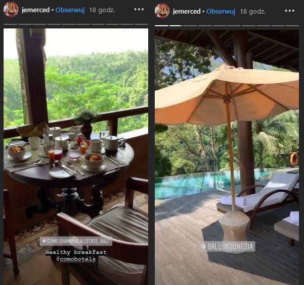 wakacje Jessici Mercedes na Bali