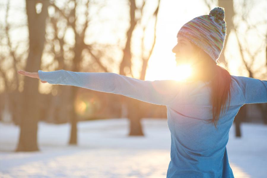 Zimowy trening