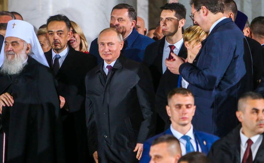 Putin w Serbii