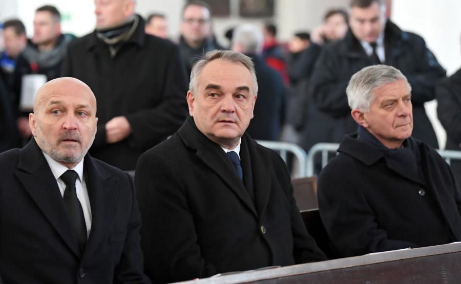 Kazimierz Marcinkiewicz, Waldemar Pawlak i Marek Belka