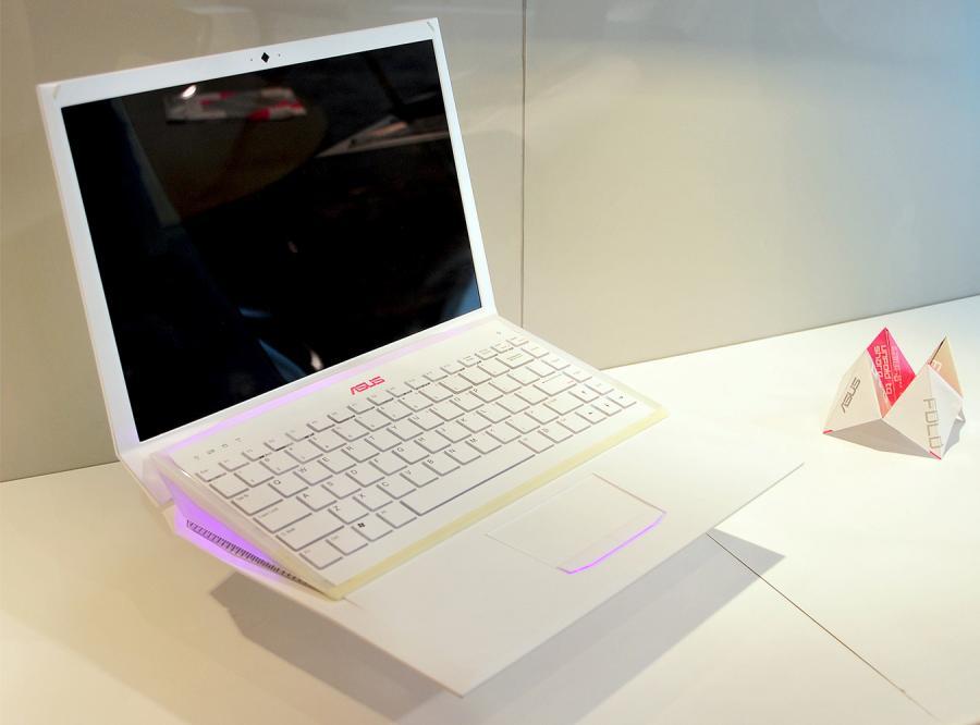 Laptop Origami za ludzkie pieniądze