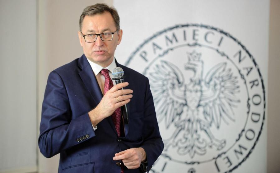 Prezes Instytutu Pamięci Narodowej dr Jarosław Szarek