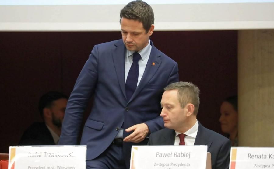 Rafał Trzaskowski i Paweł Rabiej