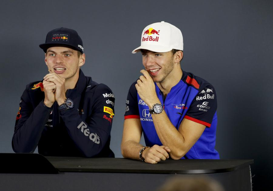 Red Bull Racing: Max Verstappen, Pierre Gasly