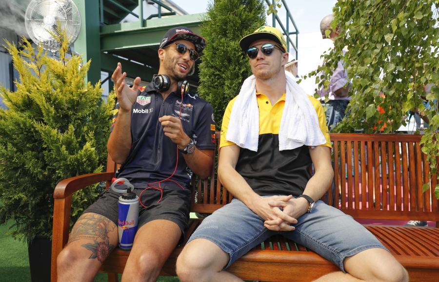 Renault: Nico Hulkenberg, Daniel Ricciardo