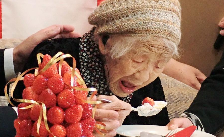 Kane Tanaka. Najstarsza kobieta świata