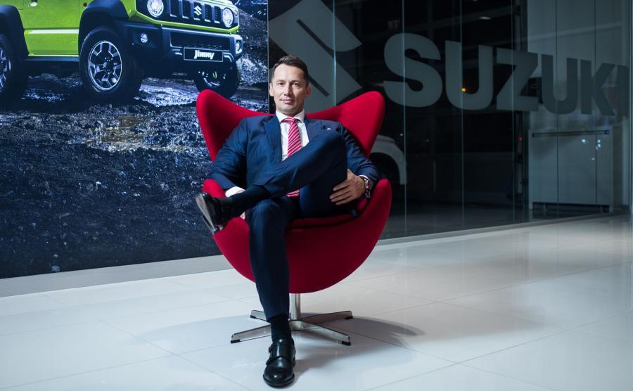 Piotr Dulnik, prezes Suzuki Motor Poland