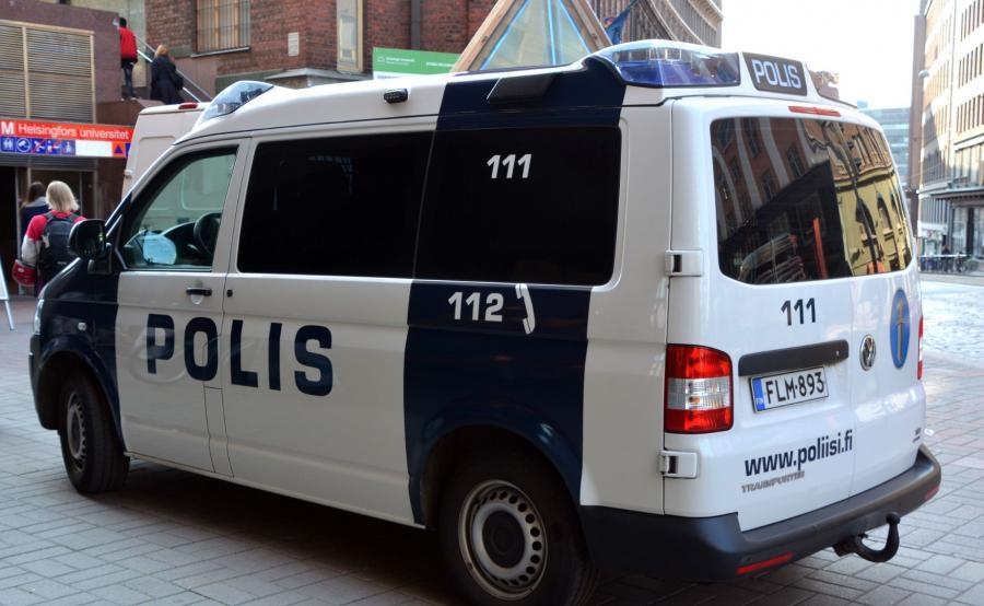 Radiowóz fińskiej policji