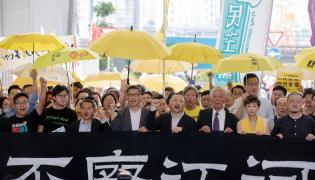 Członkowie ruchu Occupy