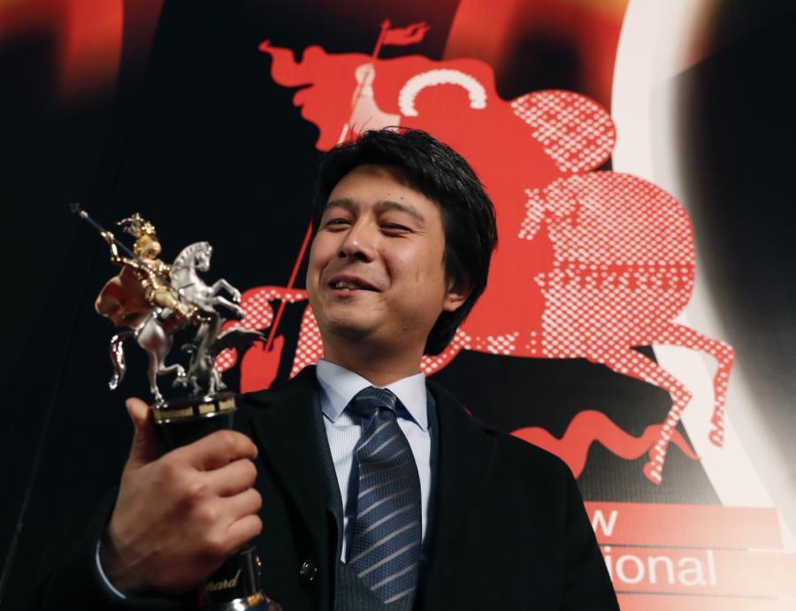Farhat Szaripow z nagrodą w Moskwie