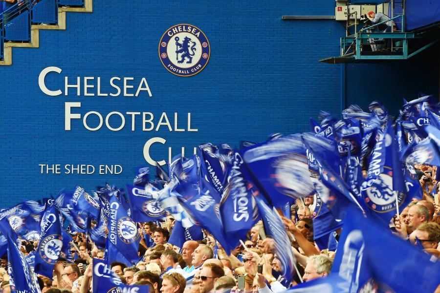Kibice Chelsea Londyn