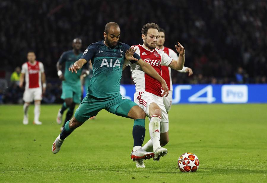 Daley Blind i Lucas Moura
