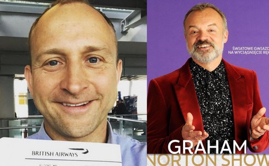 Borys Szyc, Graham Norton