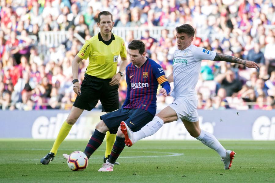 Lionel Messi i Mauro Arambarri