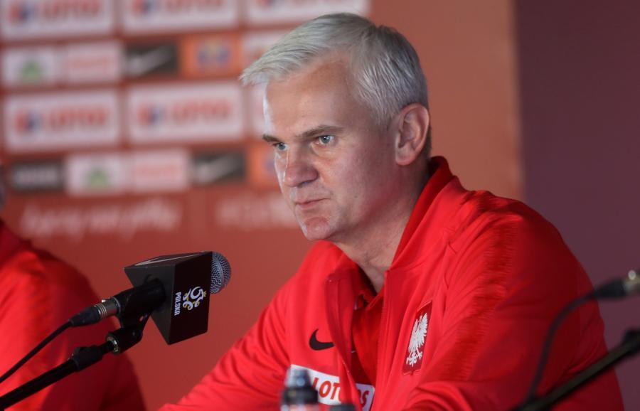 Trener młodzieżowej reprezentacji Polski Jacek Magiera