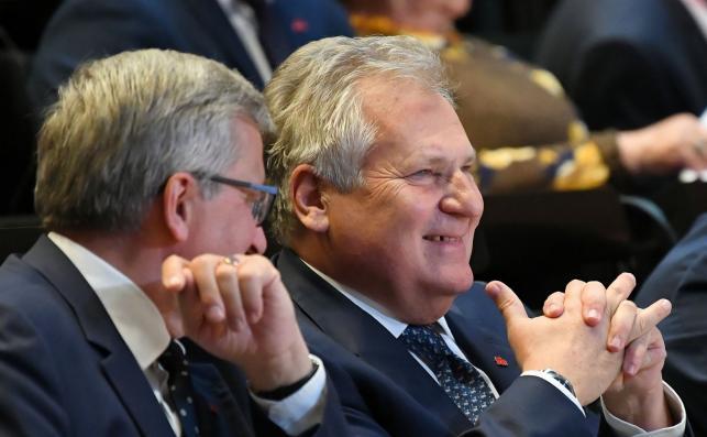 Aleksander Kwaśniewski i Bronisław Komorowski