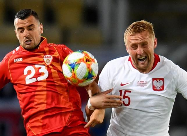 Kamil Glik i Ilija Nestorovski