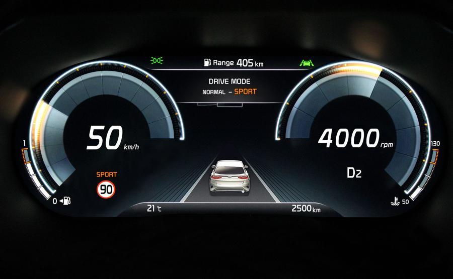 Kia XCeed dostanie 12,3-calowy, cyfrowy zestaw wskaźników Supervision