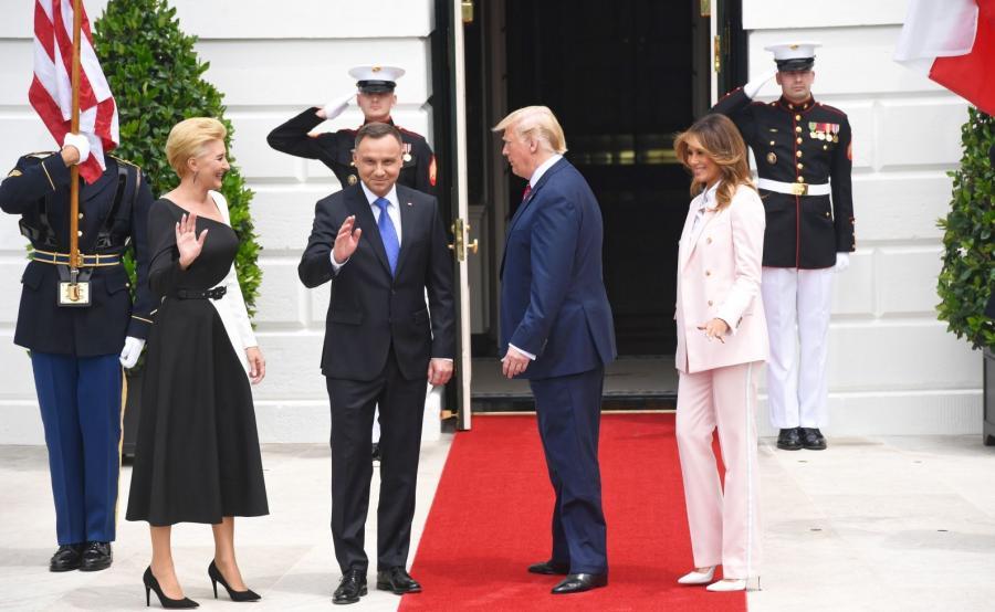 Wizyta paray prezydenckiej  w USA