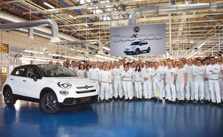W zakładzie FCA w Melfi obecnie produkowane są modele Fiat 500X i Jeep Renegade, przeznaczone na eksport do ponad 100 krajów na świecie
