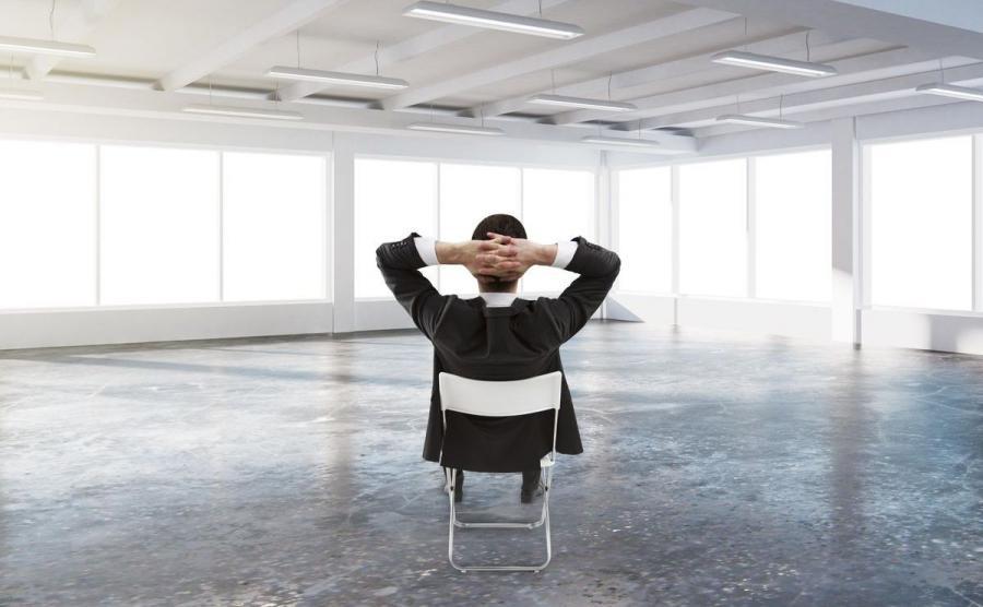 Samotny człowiek